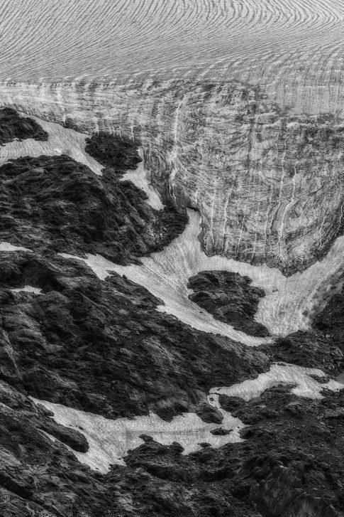 bergen - foto kunst zwart wit