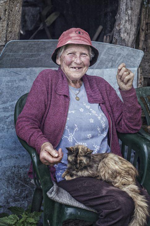 Dolomieten - Oude vrouw