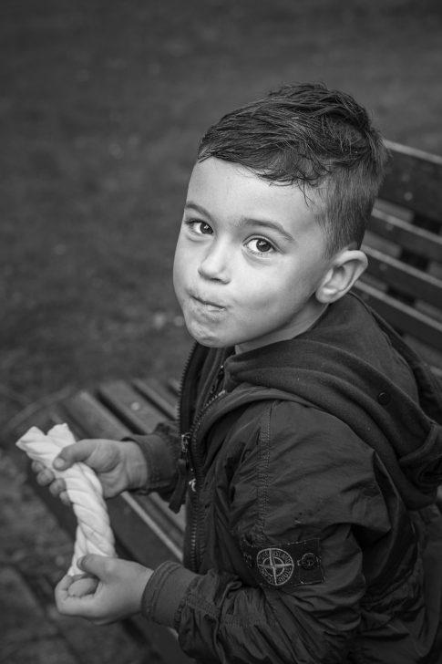 Portret foto kind - Fotograaf
