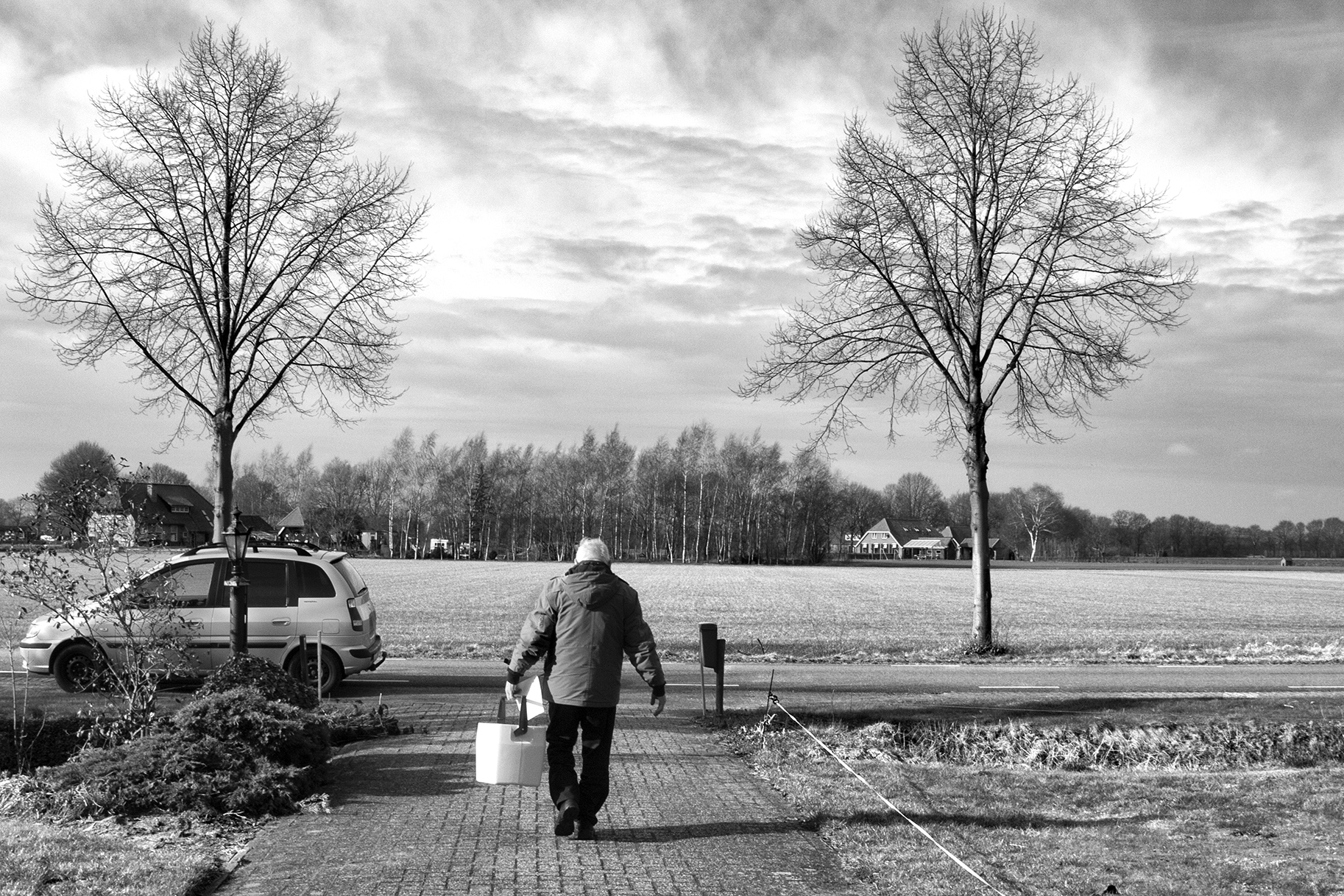Silent Heroes Walking - Documentary Photographer