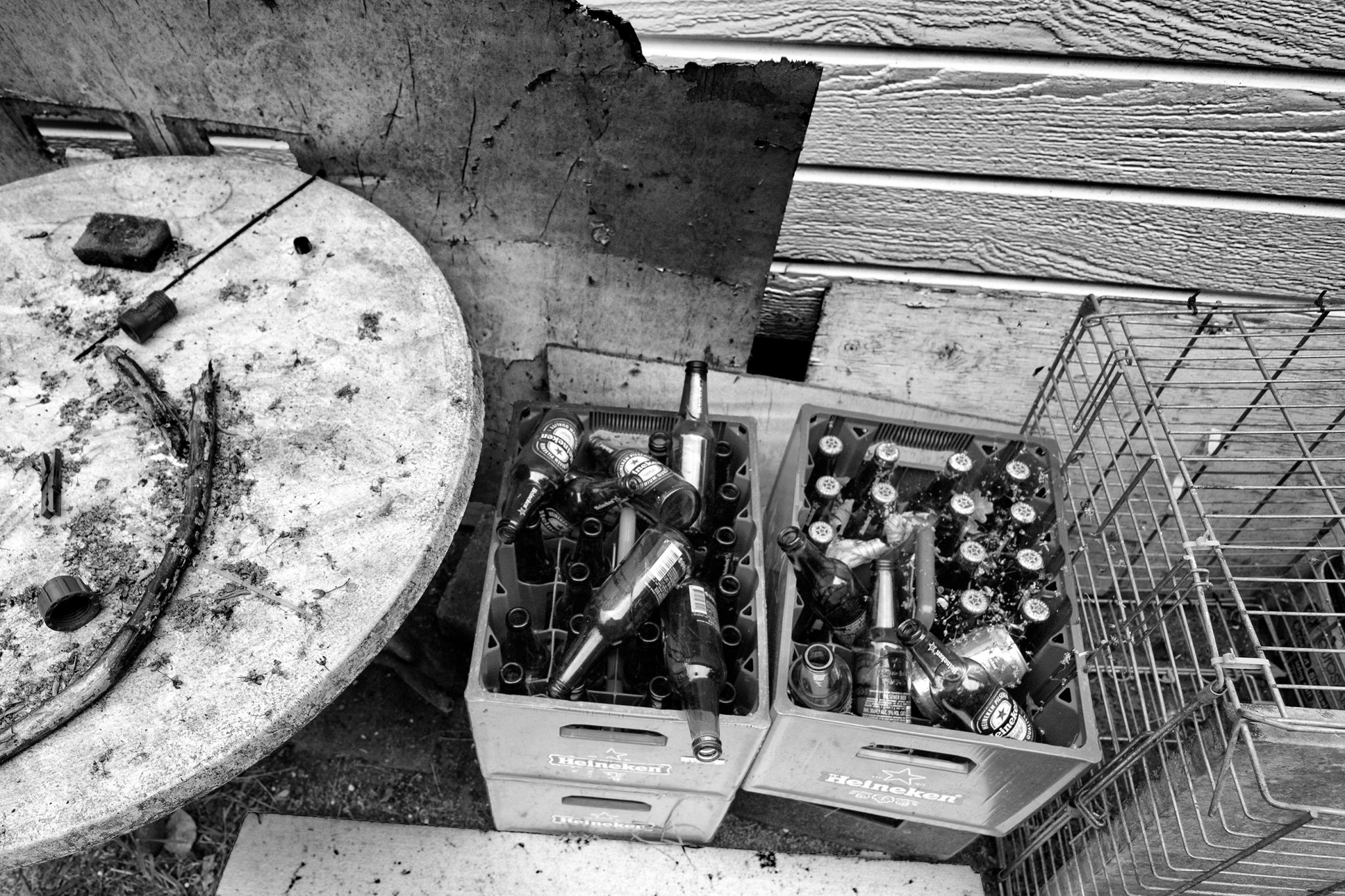 Beer bottles - Documentary Photography