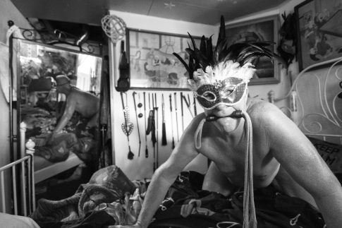 John in the Bedroom - Documentary Photography