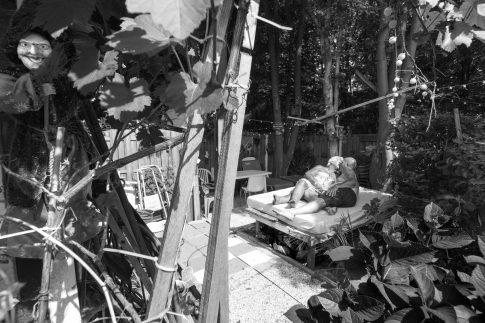 John in the sun - Documentary Photography