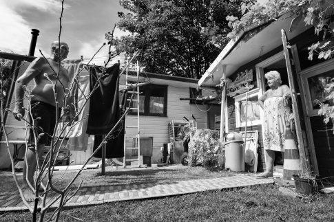 John and Woman - Documentary Photography